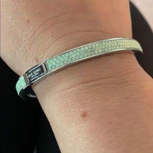 Henri Bendel foam green sorely bracelet